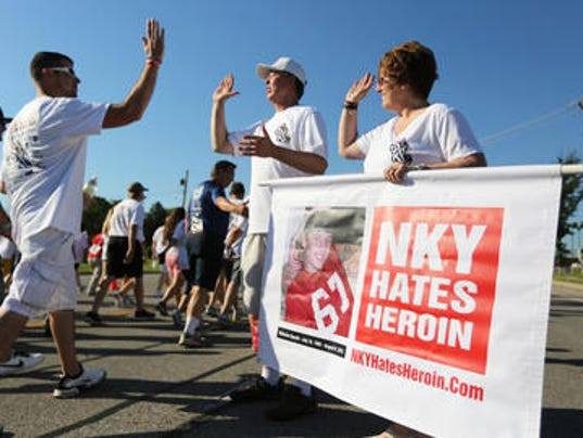 NKY Hates Heroin holly and eric specht