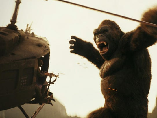 """Spectacle doesn't seem to be lacking in """"Kong: Skull"""