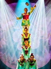 The Golden Dragon Acrobats will perform their newest