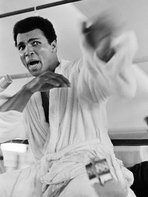 Muhammad Ali turned fans in Zaire against his opponent, George Foreman, the defending heavyweight champion.