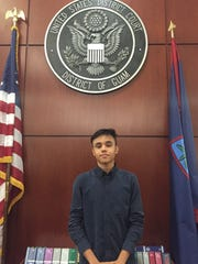 St. John's School junior Ivan Skvaril placed first overall in last year's Ninth Circuit Civics Contest's video division.