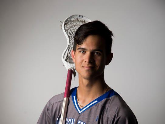 Barron Collier senior lacrosse player Bryce Cousins.