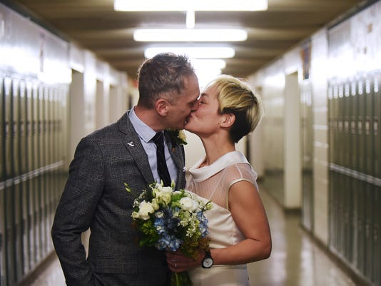Wedding: Clifton High School sweethearts