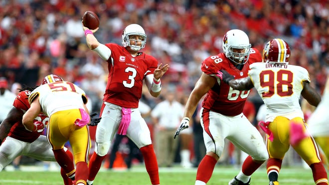 As we head into Week 7 of the NFL season, let's take a look at the latest azcentral sports NFL power rankings, courtesy of Bob McManaman (@azbobbymac). Where are the 4-1 Arizona Cardinals? Who is No. 1? Last week's rankings in parenthesis.