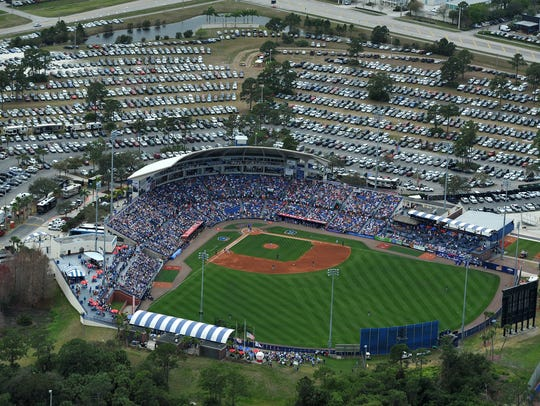 First Data Field, spring training home of the New York