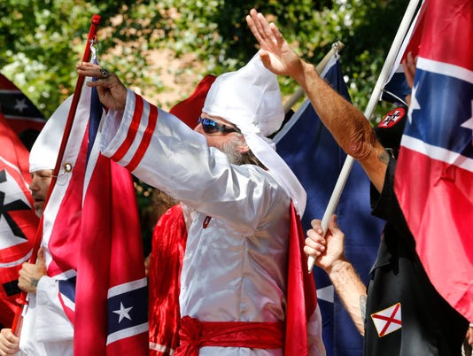 AP KKK RALLY A USA VA