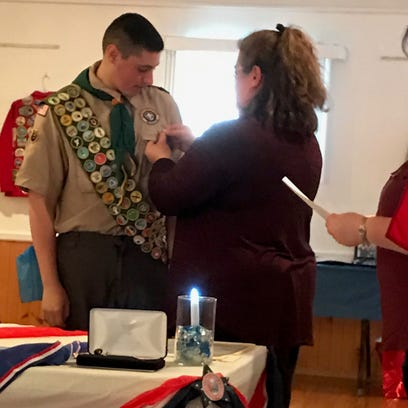 South Brunswick Eagle Scout created 'Change for Change'