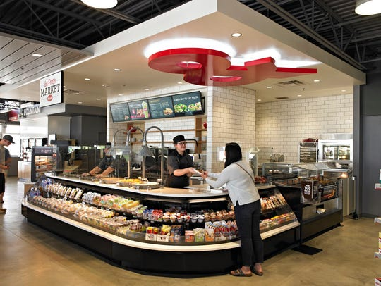 Kum & Go Marketplace stores typically look like this.