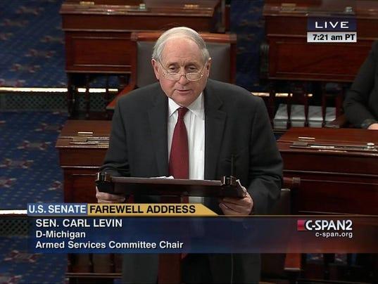 carl levin farewell address