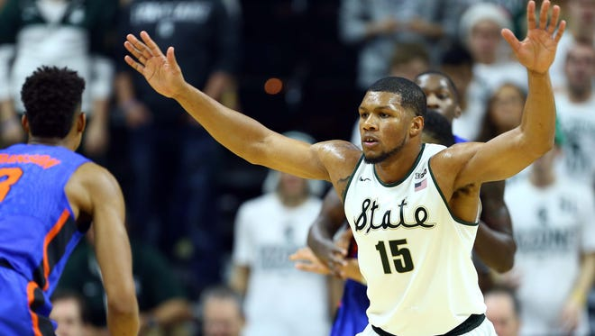Michigan State forward Marvin Clark Jr. has transferred to St. John's, the Red Storm announced this morning.