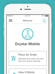 Drystar Mobile app offers on-demand laundry and dry