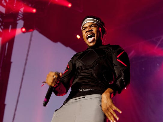 Chance The Rapper will be among the headliners at the