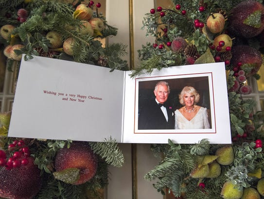 Prince Charles and his wife, Camilla, Duchess of Cornwall,