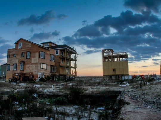 Ortley Beach, NJOrtley Beach two years after Hurricane Sandy, houses being built and cleared lots where homes once stood.102614 Tom Spader/