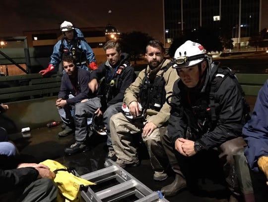 Empact Northwest's Team Harvey prepares to go to work