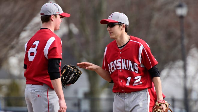 Port Clinton senior Trevor Frias, right, has plenty of varsity experience and has developed into a vocal leader who sets an example.
