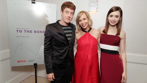 Writer/director Marti Noxon, middle, poses with 'To