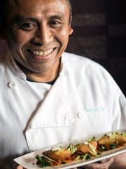 Chef Bruce Ucan of the Mayan Cafe grew up in Mexico's Yucatan Peninsula.