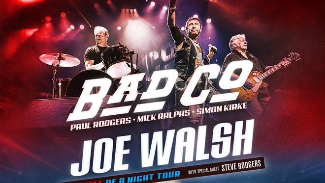 Bad Company and Joe Walsh poster