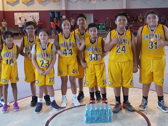 Mt. Carmel Phoenix 12U are the defending champions in the upcoming 2017 SummerJam Tournament presented by Aloha Maid and Bank of Guam that kicks off  Friday at Tamuning Gym. Games run each week thru August 13. Visit www.guambasketball.com for game schedule and info.