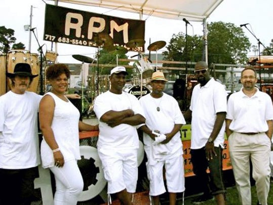 The funk band RPM will perform during New Year's Eve festivities in downtown York.