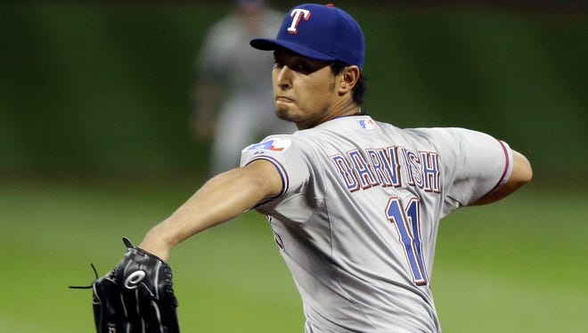 The Rangers' Yu Darvish has been cleared to begin an offseason throwing program.