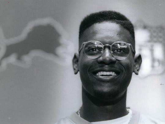 Herman Moore the Lions top draft pick in 1991.