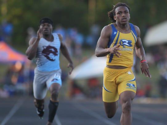 Rickards' Trevor Solomon-Wilson races to a win in the