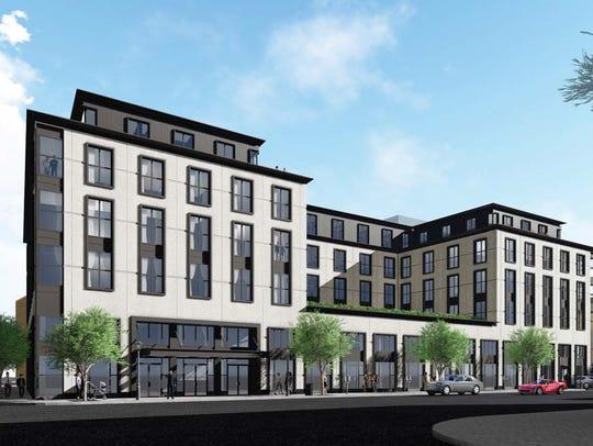 Aparium Hotel Group unveiledplans for a five-story