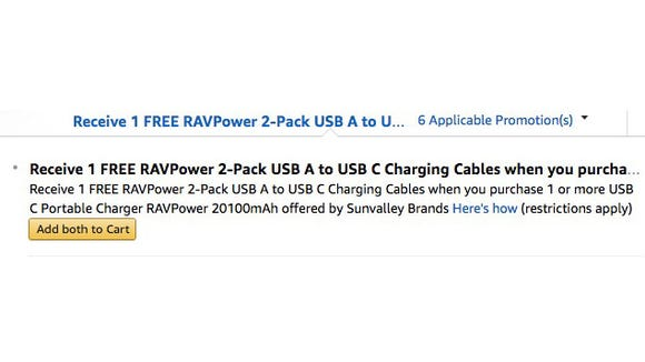 RAVPower Promotional Deal