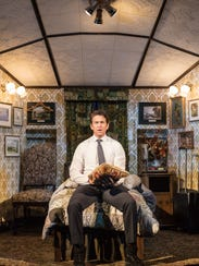 "Andy Karl in ""Groundhog Day."""