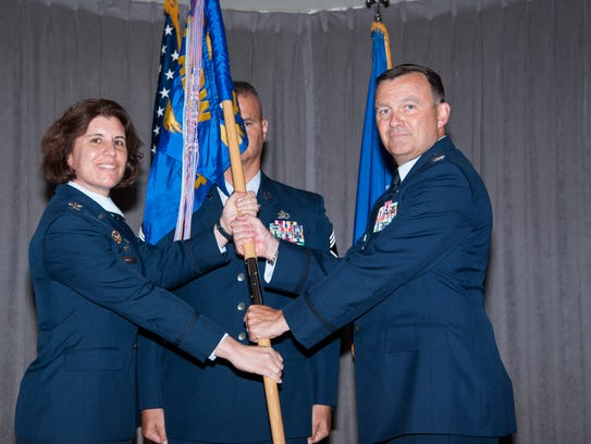 Maxwell AFB, Ala. -   A Change of Command ceremony