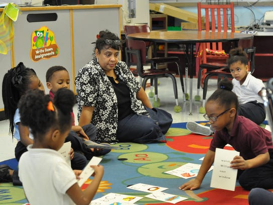 W.O. Hall Elementary improved its school performance
