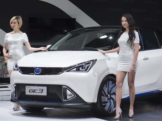 Chinese auto manufacturer GAC unveils their new electric