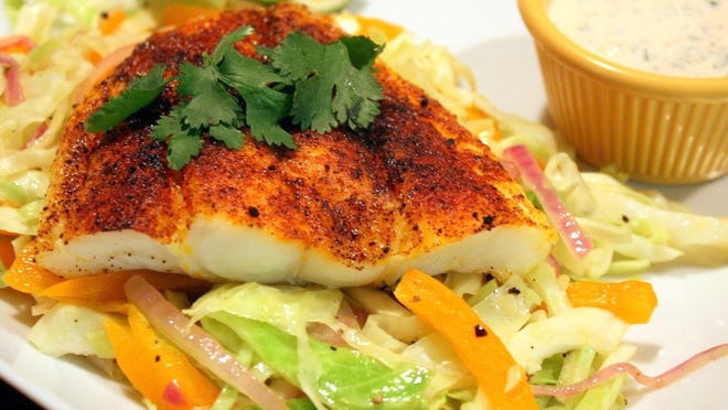 Chile Spiced Haddock.