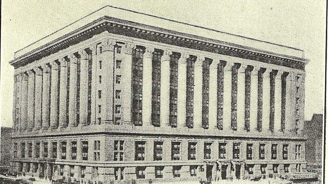 Chicago City Hall was built with granite from Hardwick.