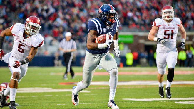 Ole Miss wide receiver Damore'ea Stringfellow will be counted upon to take a big step forward next season if junior Laquon Treadwell declares for the NFL Draft.