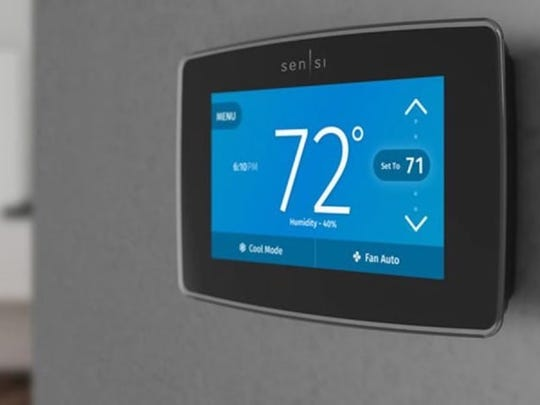 The Sensi Touch smart thermostat is available now.