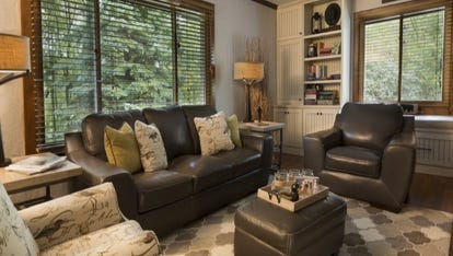 Built-ins are permanent decorative or storage items–like cabinets, shelving, or window seats