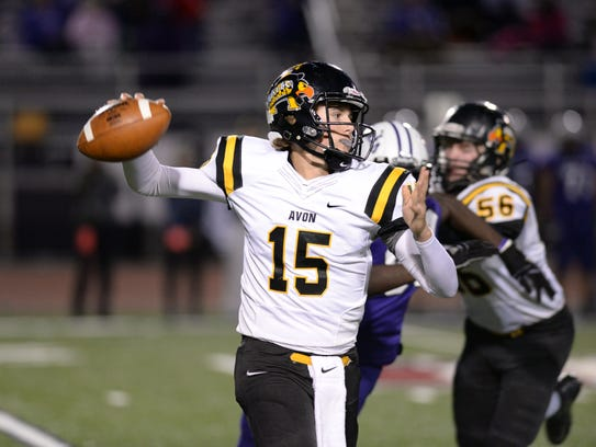 Avon QB Cameron Misner will look to build off a strong