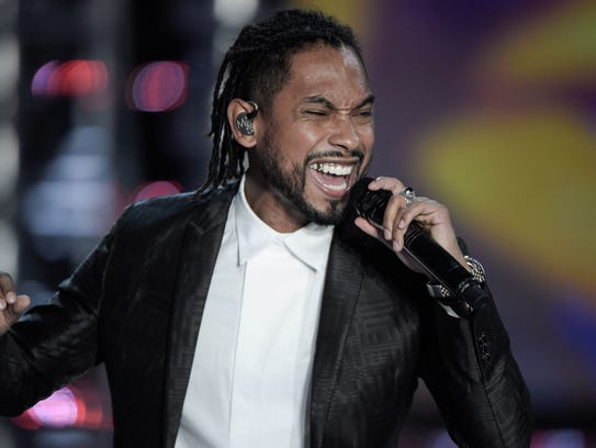 Singer Miguel's 'War and Leisure' tour kicks off Feb.