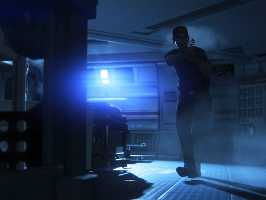 "An alien and androids aren't the only threats aboard the colony in ""Alien: Isolation."" The few desperate survivors will resort to lethal means against any stranger."