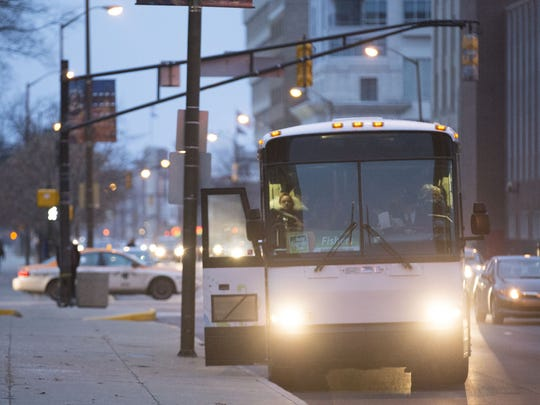 The Fishers Express bus route to Downtown Indianapolis was discontinued this year. Transit advocates hope to start a more effective transit system in coming years.