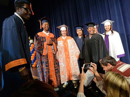 Carolina High surprised with graduation regalia