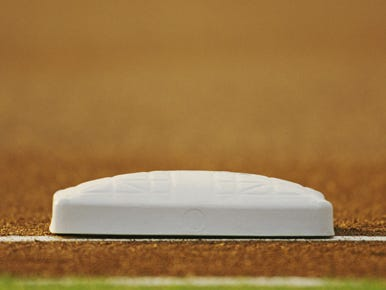 Baseball base.
