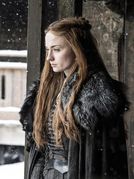 Sophie Turner aka Sansa