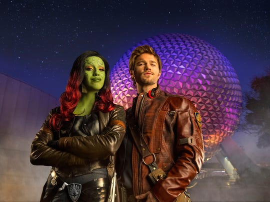 A futuristic reversion to obsolete formats is on tap for Epcot this summer, with Star-Lord and Gamora as the hosts