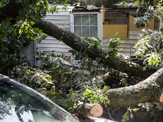 Frayser Residents Recount Harrowing Storm Experiences