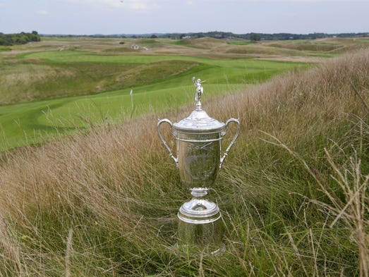 Want To Qualify For US Open At Erin Hills - Us open erin hills map
