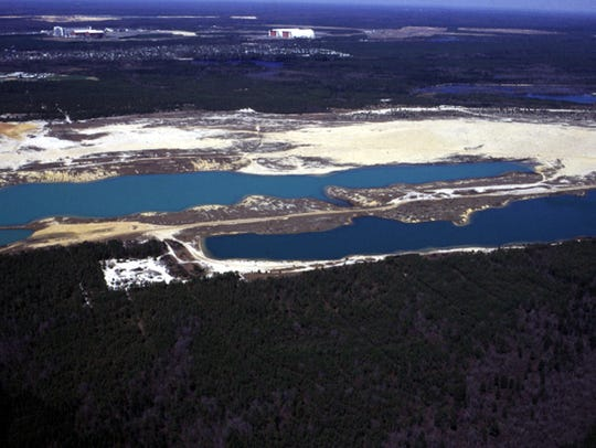 The former Heritage Minerals quarry could be the site